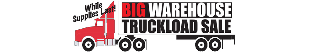 Big Warehouse Truckload Sale at Wecker's Flooring Center in York