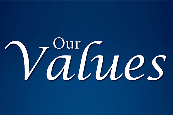Our Values at Wecker's Flooring Center