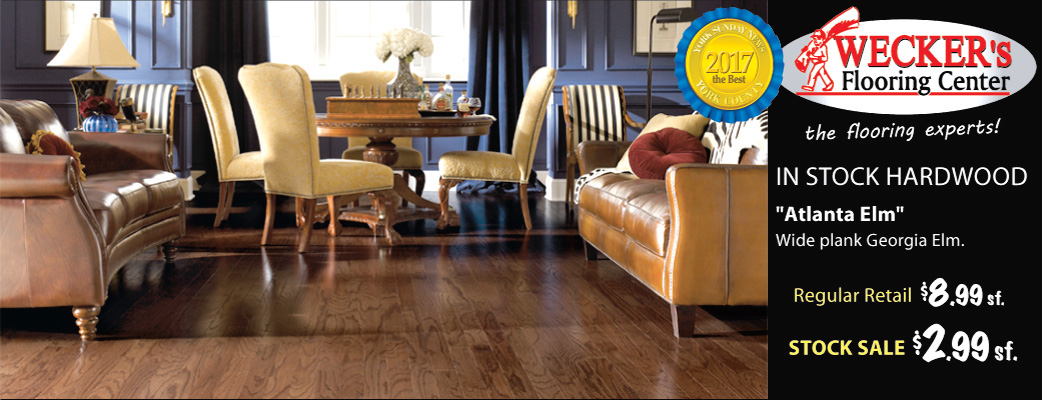 Atlanta Elm In-stock Hardwood on sale $2.99 sq.ft.