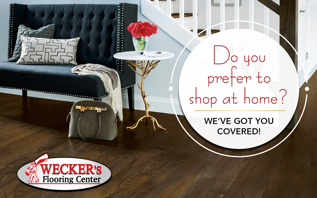 We bring the showroom to you! Schedule your appointment today!